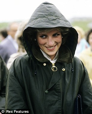 Princess Diana fell in love with Barbour jackets in the 80s