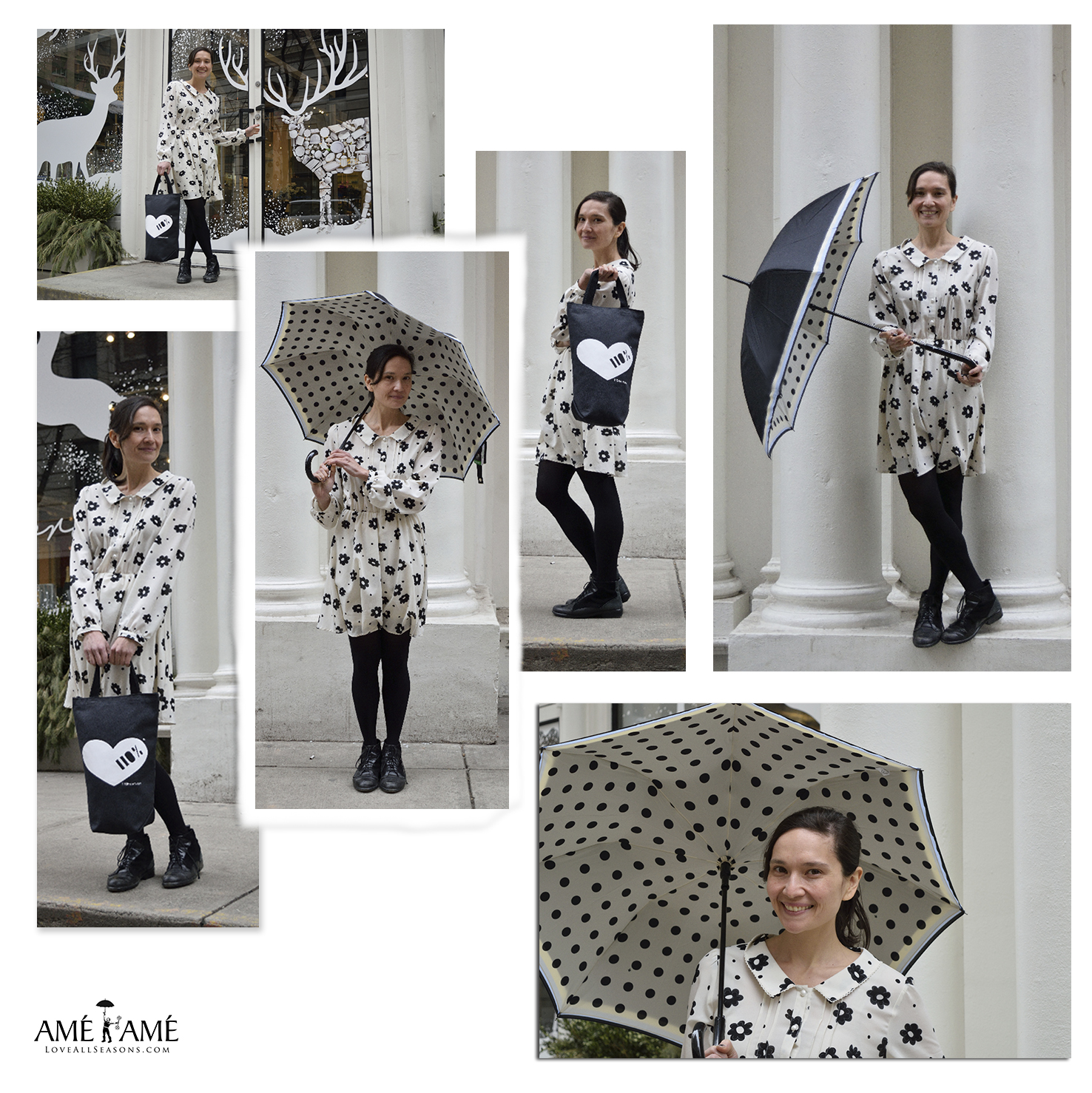 black-and-white-polka-dot-umbrella-heart-tote-teresa-soroka-ame-ame-nyc