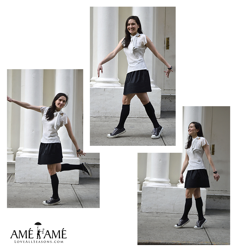 lisa-b-knee-high-socks-white-scarf-black-skirt-ame-teresa-soroka-ame-nyc